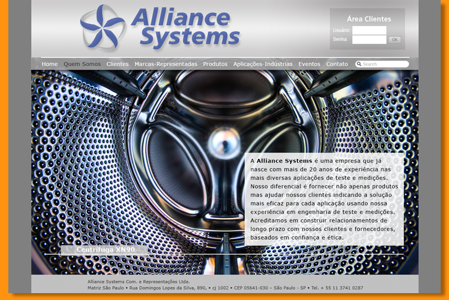 Alliance - Website