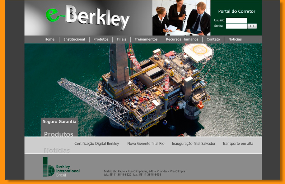 Berkley - Website